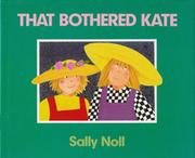 Cover of: That bothered Kate