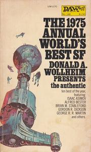 Cover of: Annual World's Best Science Fiction, 1975 (World's Best SF)