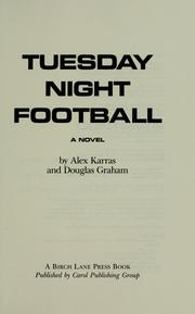 Cover of: Tuesday Night Football
