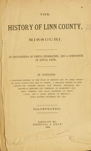 Cover of: The history of Linn county, Missouri. |