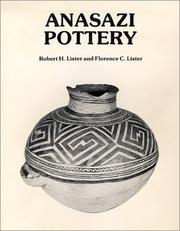 Cover of: Anasazi pottery
