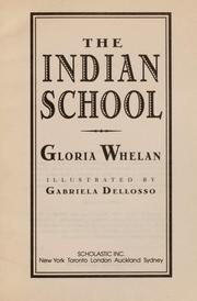 Cover of: The Indian school