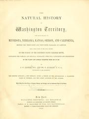 Cover of: natural history of Washington territory | Cooper, J. G.