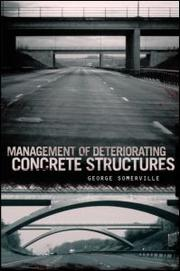 Cover of: Management of deteriorating concrete structures