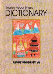 English-Nepal Bhasa dictionary = by Kamal Tuladhar