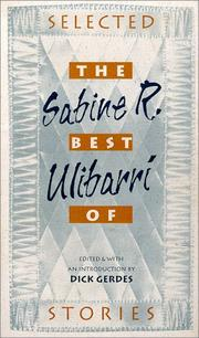 Cover of: The best of Sabine R. Ulibarrí | Sabine R. UlibarriМЃ