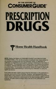 Cover of: Prescription Drugs |