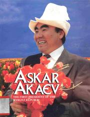 Cover of: Askar Akaev |