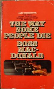 Cover of: The way some people die