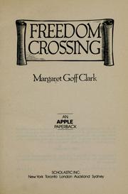 Cover of: Freedom Crossing