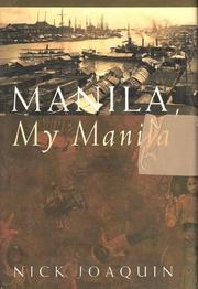 Cover of: Manila, my Manila