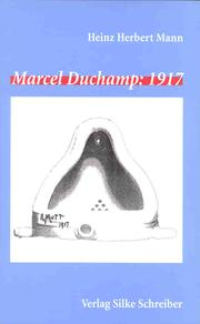 Cover of: Marcel Duchamp, 1917