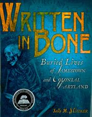 Cover of: Written in bone | Sally M. Walker
