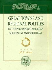 Cover of: Great towns and regional polities