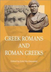 Cover of: Greek Romans and Roman Greeks by