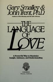 Cover of: The language of love