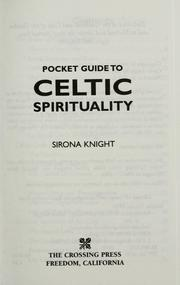 Pocket guide to Celtic spirituality
