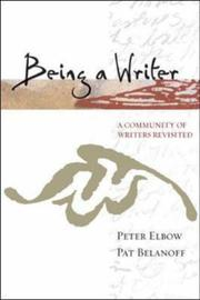 Cover of: Being a writer