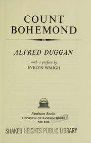 Cover of: Count Bohemond
