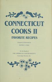 Cover of: Connecticut cooks II | designed & illustrated by David C. Cole.