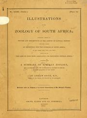 Cover of: Illustrations of the zoology of South Africa | Sir Andrew Smith