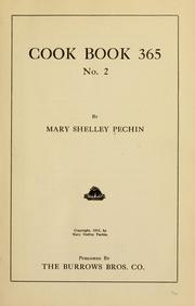 Cover of: Cook book 365, no. 2