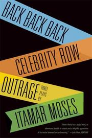 Cover of: Back back back | Itamar Moses