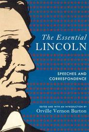 Cover of: The essential Lincoln