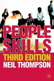 Cover of: People skills