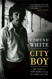 Cover of: City boy: my life in New York during the 1960s and 70s