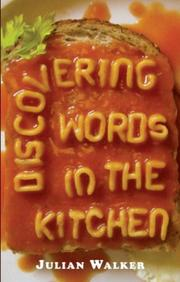 Cover of: Discovering Words in the Kitchen (Shire Discovering) | Julian Walker