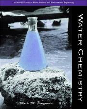 Cover of: Water Chemistry | Mark M. Benjamin
