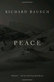 Cover of: Peace (Vintage Contemporaries)