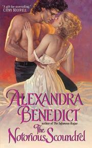 Cover of: The Notorious Scoundrel | Alexandra Benedict