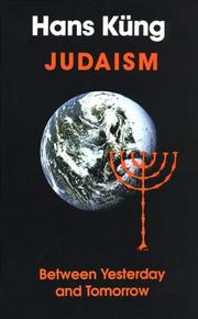 Judaism by Hans Kung