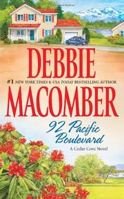 Cover of: 92 Pacific Boulevard (Cedar Cove)