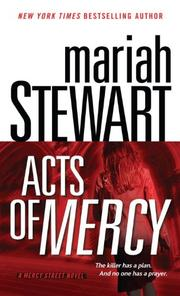 Cover of: Acts of mercy | Mariah Stewart