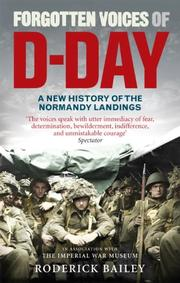 Cover of: Forgotten Voices of D-Day