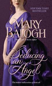 Cover of: Seducing an Angel | Mary Balogh