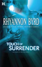 Cover of: Touch of Surrender (Hqn)