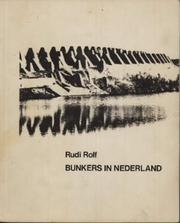 Cover of: Bunkers in Nederland