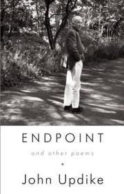 Cover of: Endpoint and Other Poems