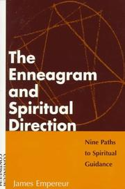 Cover of: The enneagram and spiritual direction