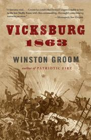 Cover of: Vicksburg, 1863 (Vintage Civil War Library)
