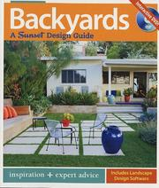 Cover of: Backyards: A Sunset Design Guide
