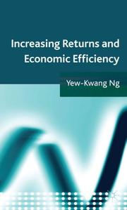 Cover of: Increasing Returns and Economic Efficiency