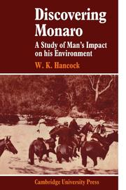 Cover of: Discovering Monaro: A Study of Man's Impact on his Environment