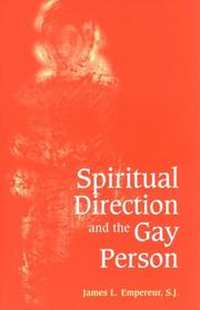 Cover of: Spiritual direction and the gay person