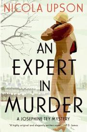 Cover of: Expert in Murder, An: A Josephine Tey Mystery