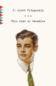 Cover of: This Side of Paradise (Vintage Classics) | F. Scott Fitzgerald